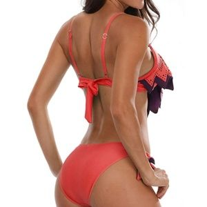 S. the Widow Swim - DANA Ruffle Top Bikini